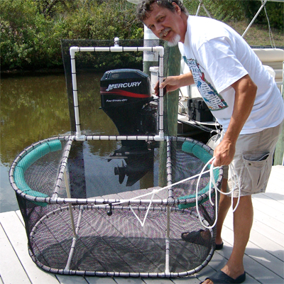 Fishing Live Bait Pen 4 x 2 x 2