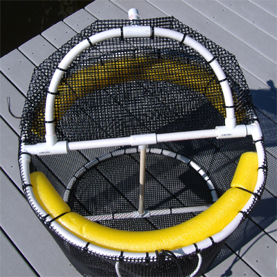 Fishing live bait pen 2 x 2 for Live fish basket